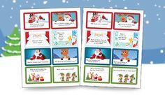 Santa has Printable Christmas Lunchbox Jokes for Kids! || Letters from Santa