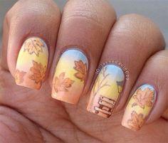 Fall Nail Art Designs   Autumn Nails