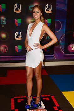 Daniela di Giacomo attends Univision's Premios Juventud 2015 at Bank United Center on July 16 2015 in Miami Florida