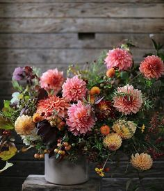 Love the pinks in this perfect floral arrangement!