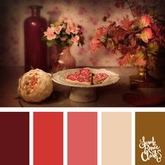 20 Color Ideas For Valentine's Day | See all 20 color schemes for inspiration at https://sarahrenaeclark.com