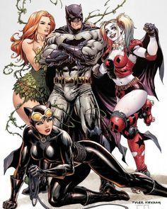 Batman Rebirth #1 variant cover by Tyler Kirkman
