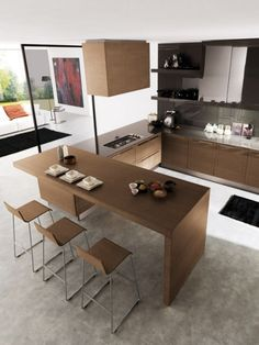 ♥ Küche-Euromobil Design Holz