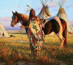 native american tribes and their horses Native American Horses, Native American Warrior, Native American Paintings, Native American Pictures, Native American Artists, Native American History, Indian Paintings, American Indians, Horse Paintings