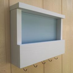 Mail and Key Rack / Mail Organizer / Mail Holder / by CedarOaks