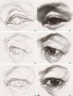 Ojos a lápiz