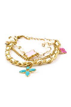 Layered Aspen Bracelet