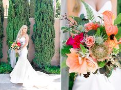 bridal bouquet @weddingchicks