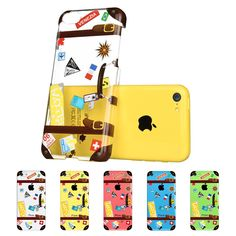 iPhone 5C Case, ESR the Beat Series Hard Clear Back Cover Snap on Case for iPhone 5C (Polka Dots):Amazon:Cell Phones & Accessories