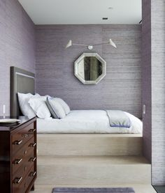 Contemporary Bedroom in New York, NY by Sheila Bridges Design, Inc