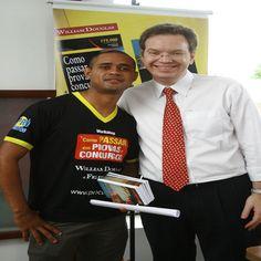 Francisco Rodrigues - Educador Financeiro e William Douglas o Guru dos Concursos um grande amigo.