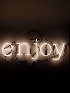 SELETTI  NEON ART ENJOY WALL LAMP