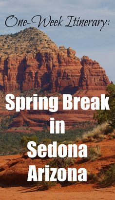 Sedona, Arizona is a fantastic destination for a family vacation. For families looking to combine outdoor adventure with Western American culture, fun dining and relaxing under magnificent red rocks, consider heading to Arizona for a week.  Here's a perfect one-week itinerary!
