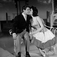 """Paul Anka & Annette Funicello """"And they called it puppy love..."""""""
