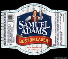 Samuel Adams - Boston Lager - NEW Label