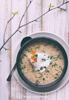 Polish Recipes, Veggie Recipes, Veggie Food, Cheeseburger Chowder, Veggies, Vegetarian, Yummy Food, Dinner, Ethnic Recipes