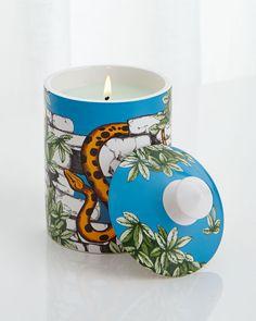 Fornasetti Il Serpente del Giardino Single-Wick Scented Candle, Serpente Del Giar - Neiman Marcus