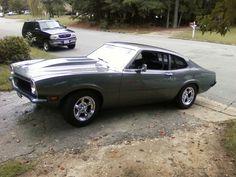 My 1972 Ford Maverick was Grabber Blue.