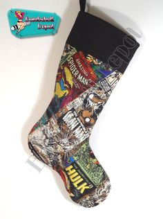 Iron Man Christmas Stocking | SOLD OUT SORRY! | Pinterest ...
