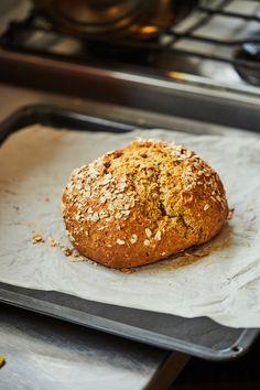 Ír szódás kenyér | Street Kitchen Baking Recipes, Hamburger, Clean Eating, Bread, Breakfast, Food, Cooking Recipes, Morning Coffee, Eat Healthy
