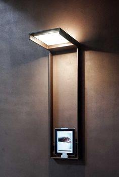 Bongio Casa Vertical wall lamp . Modern design. Home decor.