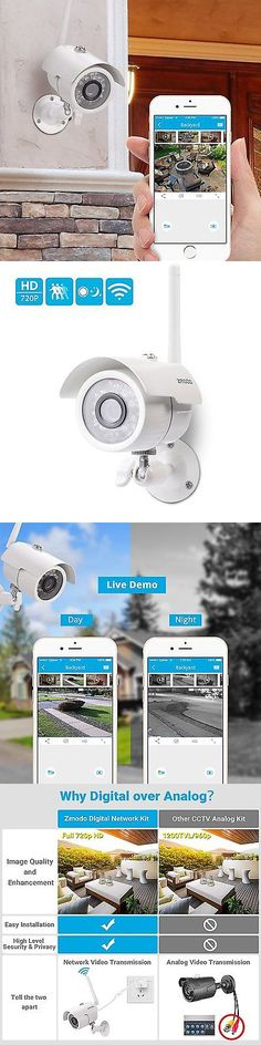 Surveillance Security Systems: Home Wireless Security Video Camera System Surveillance 720 Hd Night Vision App -> BUY IT NOW ONLY: $50.87 on eBay!