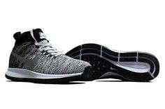best website 4c58e 3df62 Nike Skor Rea, Nike Air Zoom Pegasus All Out Flyknit Herr Wolf Svart Grå Vit  Se799669