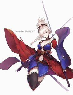 Tagged with fate stay night, fate, miyamoto musashi, fate grand order, fgo; Fantasy Character Design, Character Concept, Character Art, Character Names, Fantasy Characters, Female Characters, Anime Characters, Manga Japan, Anime Krieger