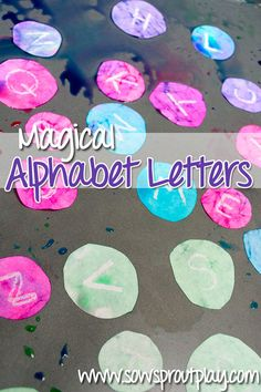 Alphabet Practice – Magical Alphabet Letters from Sow Sprout Play