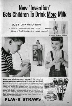 Flav-R-Straws - 1957