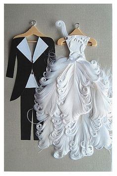www.weddbook.com everything about wedding ♥ Gorgeous handmade wedding invitation #weddbook #wedding #diy #craft