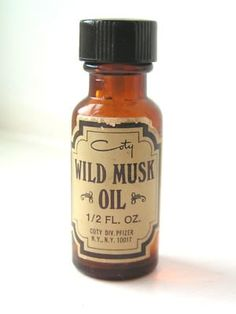 "Coty Wild Musk Oil - OMG, the night before my first day in Junior High, I soaked my pink sponge rollers in a mixture of water and this stuff (you know, to make my hair smell irresistible) and wound my waist-length hair up. Next morning - greasy, limp, ""you've just jacked up your first year in junior high"" hair. Hello?! It says ""Oil"" right on the bottle!"