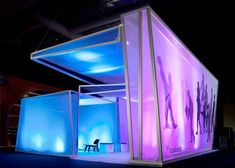 Photos of completed projects using Transformit Ready-Made tension fabric structures in Exhibits Exhibition Booth Design, Exhibition Display, Exhibition Stands, Exhibit Design, Trade Show Design, Display Design, Standing Signage, Pop Up, Fabric Display