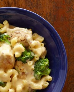 Chicken and Broccoli Mac and Cheese Recipe from Food Network's One-Pot Wonders
