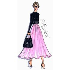 Hayden Williams Fashion Illustrations ❤ liked on Polyvore featuring sketches, hayden williams and illustrations