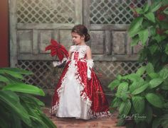 A Couture Holiday Gown Lace Dresses, Holiday Dresses, Flower Girls, Special Occasion, Royalty, Gown, Photoshop, Costumes, Play