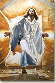 Mural Info - More About The Resurrection Mural   Christian Art - Christian Framed Prints   Tapestry Productions