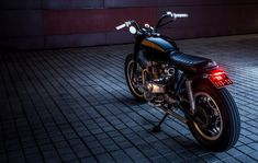 Honda CB400N Brat Style by JeriKan Motorcycles #motorcycles #bratstyle #motos | caferacerpasion.com