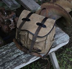 Filson | Outdoor | Canvas | Bags | Nag Classic | Get it at www.nagpeople.com