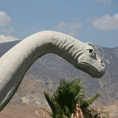 The Cabazon Dinosaurs Cabazon, CA Distance from LA: 98 miles, drive Weekend Trips, Day Trips, Cabazon Dinosaurs, Cross Country Trip, City Of Angels, Road Trippin, T Rex, Getting Out, Palm Springs