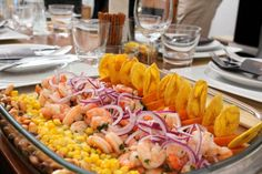 Cooking Projects – #yummy #peruvian #starter #ceviche