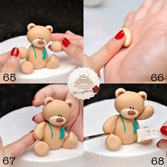 Sheryl Bito BunsInTheOven Cupcakery Malaysia | Party Bear Tutorial
