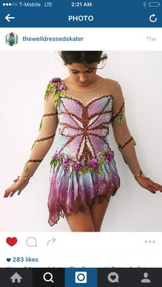 Butterfly dress: STUNNING!