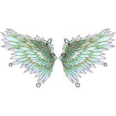57.png ❤ liked on Polyvore featuring wings, filler, butterflies, fairies and whimsical