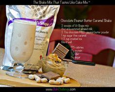 chocolate peanut butter caramel body by vi shake