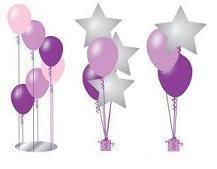 balloon center pieces - Google Search