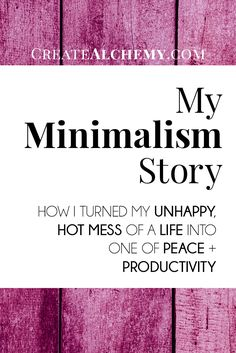 How I turned my hot mess life into one of peace & productivity