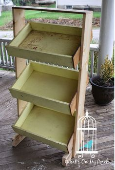 Basket, Table, Bins 3 tiered display bin made with dresser drawers! tiered display bin made with dresser drawers!