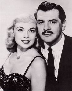 Ernie Kovacs and his wife, Edie Adams. Stars on Hollywood's walk of fame. But does the average person remember them any more? Sadly no. And is their look so distinct that they would be recognized if they were seen in a store? Movie Couples, Famous Couples, Hollywood Walk Of Fame, Hollywood Couples, Hollywood Style, Hollywood Icons, Classic Hollywood, Celebrity Couples, Celebrity Weddings