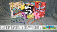 Up the laughs at your next party with this group of party games! - SahmReviews.com #games #boardgames #partyideas